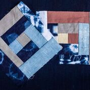 Hand-Piecing a Naturally Dyed Quilt