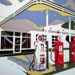 kim phillips service station papercut